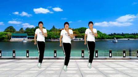 网络流行广场舞《我单身我骄傲》健身32步