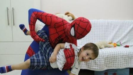 蜘蛛侠:蜘蛛侠给小宝宝带的新奇玩具!
