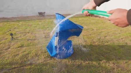 如何使用空气压扁汽油桶?新奇趣味实验,一起来见识下!