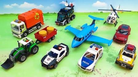 农用车环保车玩具拼搭