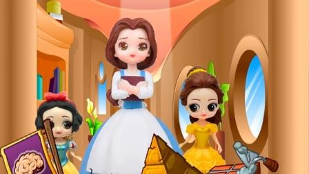 僵尸威胁王后迎娶公主,贝尔保护了白雪妹妹