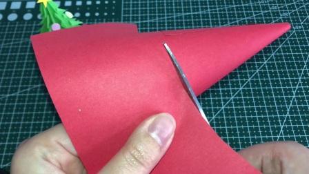 圣诞节幼儿园手工,制作立体的圣诞老人,简单有创意,学起来吧