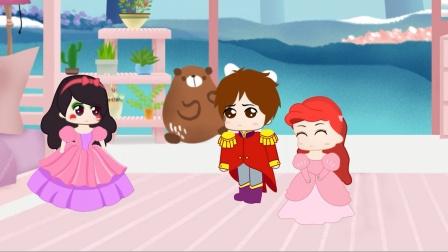 王子参加舞会,竟然选火焰当舞伴不选白雪