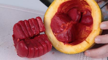 """试吃神奇水果""""木鳖瓜"""",一口下去,这味道一辈子忘不了!"""