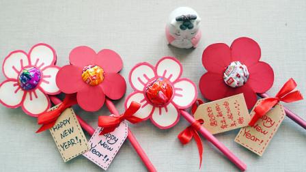 来做最近超火的小红花,刚好可以送闺蜜,步骤也简单!