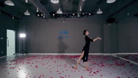 舞徒原创《胭脂泪》,陈欣妮老师展示,仿佛看到阮玲玉短暂一生