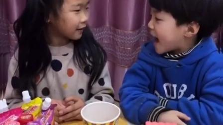 童年的趣事:先吃一个果冻!