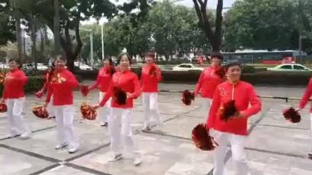 健康快乐彩视作品集:惠州江北念佛拍手操队:《开业大吉》广场舞,2020年12月25日。