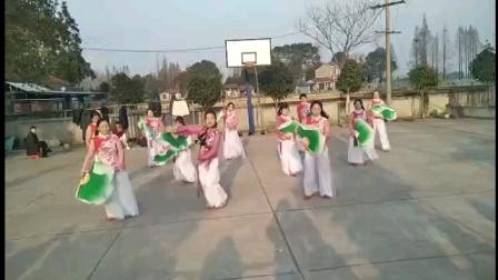 健康快乐彩视作品集:华容广厦社区姐妹健身舞蹈队,《庆元旦,迎新年》广场舞,2020年12月24日掠影。