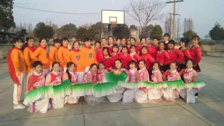 健康快乐彩视作品集:华容广厦社区姐妹健身舞蹈队:《庆元旦,迎新年》广场舞,2020年12月24日掠影。