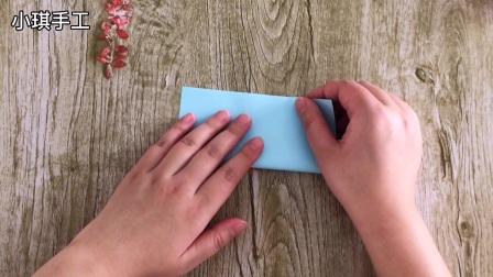 千纸鹤折纸,简单有创意,学起来