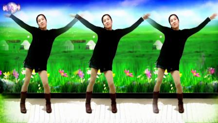 广场舞《红马鞍》简单32步.