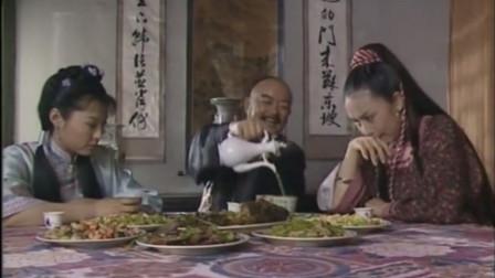 纪晓岚:左阿四右小月,和珅这小酒喝的太有味,笑得合不拢嘴啊