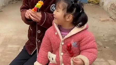 亲子游戏:三宝,再吃糖葫芦