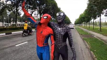 蜘蛛侠:死侍把蜘蛛侠扔在了半路上!