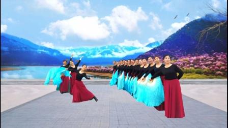 大扇舞:我的祖国    演绎:老干局艺术团