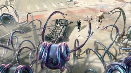 未来世界,外星怪物入侵地球,结果被几名小孩子轻松就团灭了