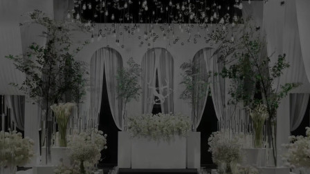 用KT板做门洞造型的婚礼背景,你还不会吗?