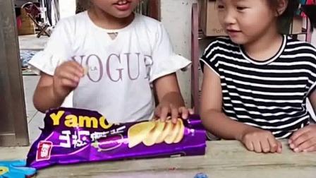 亲子游戏:小孩能吃