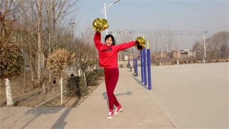 新年花球舞《牛气冲天》适合表演,跳出健康好身材