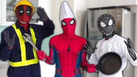 蜘蛛侠:你觉得毒液请来的修理工技术如何?
