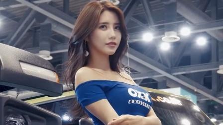 首尔汽车沙龙,短裙车模