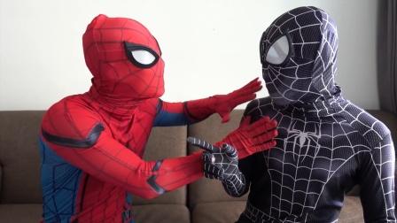 蜘蛛侠:蜘蛛侠家中的水龙头突然坏掉!