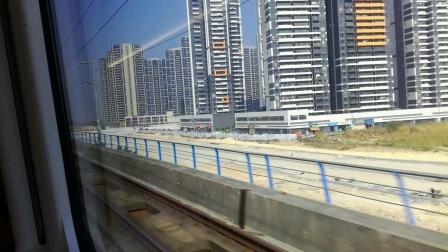 〖广珠城际〗C7666翠亨站跨越(右侧车窗)