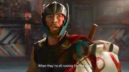 雷哥大战绿巨人,洛基心里也要平衡一点了,哈哈哈