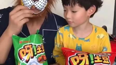 趣味生活:小朋友们你们说小孩能吃吗