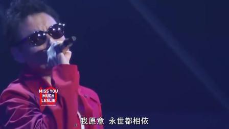 张学友《一片痴》纪念张国荣,早期的情歌唱出了和哥哥不一样的风格