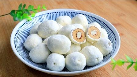 网红奶枣,不用排队买,自个儿在家做,奶香浓郁,味道超正宗