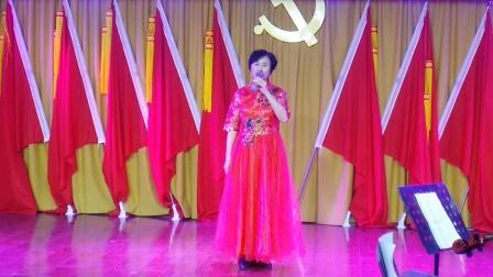 女生独唱 《欢天喜地》演唱安静社区合唱团陈玉霞