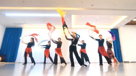 婉越舞蹈东方舞双扇扇技组合《Purple Passions》