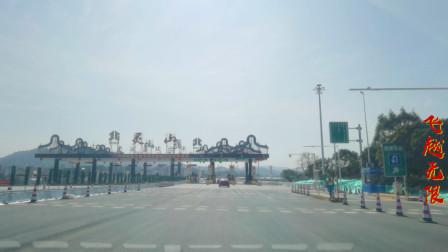 广西大浦高速正式通车了,小伙带你看灵山至浦北段路线,沿途美得不得了