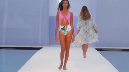 哥伦比亚比基尼模特走秀,leonisa春季  时尚频道