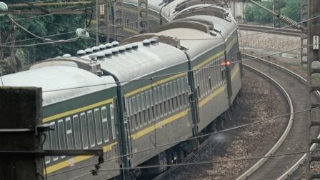 [火车][溜轴注意]HXD1D+25G+25B[K9002]永州-长沙 京广线长沙 上行