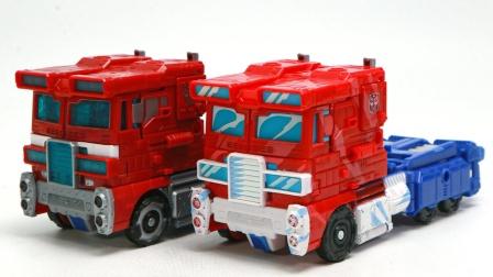 变形金刚攻城战35周年纸箱彩色擎天柱卡车车辆汽车机器人玩具