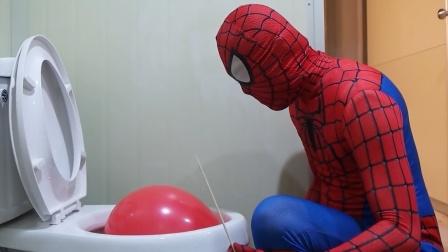蜘蛛侠:蜘蛛侠家里到处都是气球!