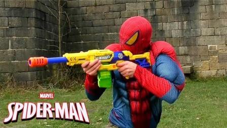 蜘蛛侠:蜘蛛侠在城堡里冒险!