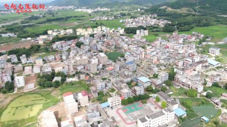 航拍广西贵港龙井村,蓝衣壮族聚居地,《哭嫁歌》远近闻名