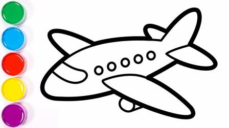 画一个超级飞侠开的飞机