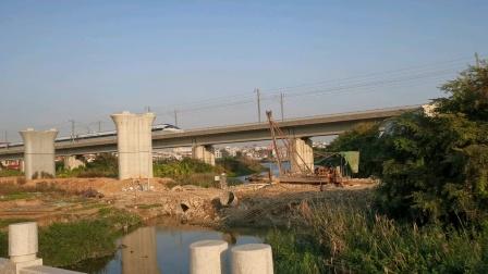 2021年1月1日D2285次CRH1A—A型重联驶过福厦铁路(上海虹桥—深圳北)