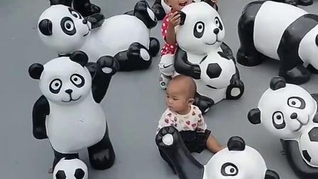 童年趣事:这里有那么多的小熊啊