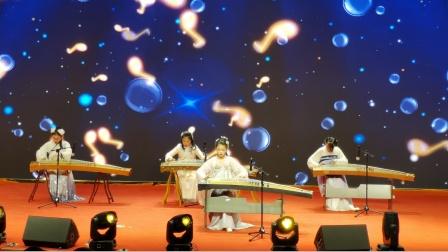 《大鱼》古筝合奏 表演者汪雅婷 查海悦 潘一诺 韦何圆   太湖县实验中学   2021元旦