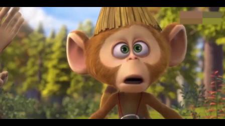 回忆经典动漫一吉吉上次假装东北猴,这次又来一个印度猴!