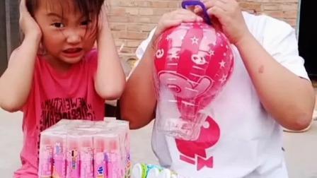 亲子游戏:妈妈,你看我的灯笼坏了