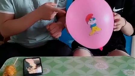 亲子游戏:玩我的小猪佩琪气球喽