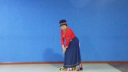 舞蹈《我的九寨》表演者刘丽萍。