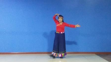 舞蹈《我的九寨》表演王春莲